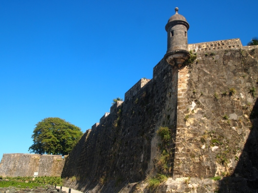 Walls of El Morro