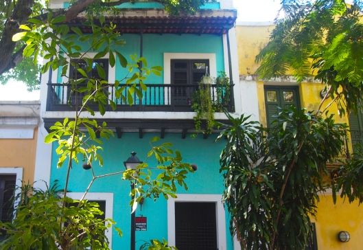 Colorful buildings in Old San Juan
