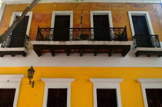 balconies in Old San Juan