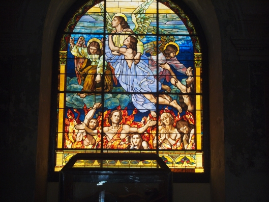 Stained glass in Catedral de San Juan