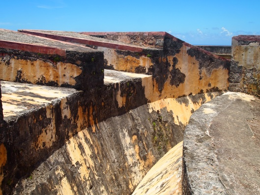 walls of Castillo de San Cristóbal