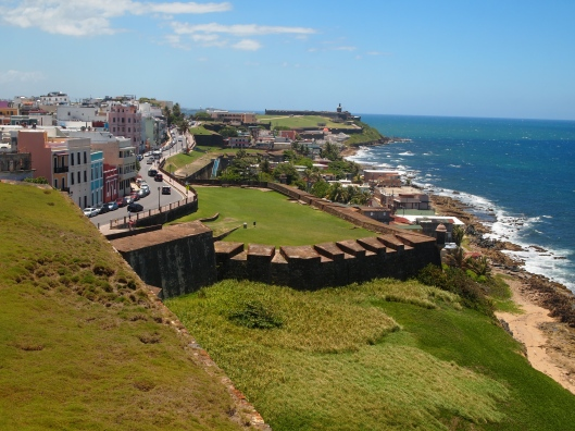 Looking west from the grounds of Castillo de San Cristóbal