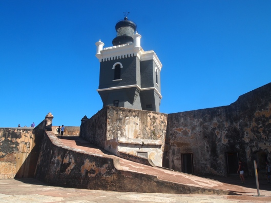 The lighthouse at El Morro