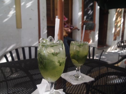 Mojitos to violin music at Nadine Cafe