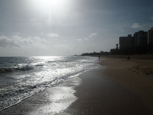 Ocean Park/Condado Beach - to the west