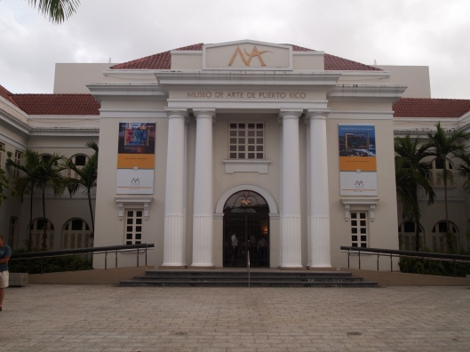 Entrance to Museo de Arte de Puerto Rico