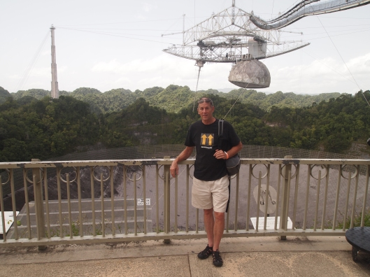 Mike at the Arecibo Observatory