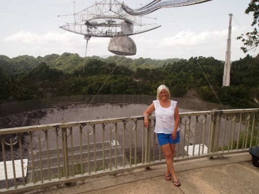 me at the Arecibo Observatory