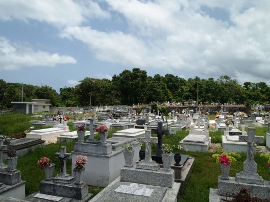 colorful cemetery near Arecibo