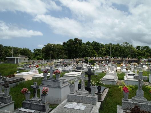 colorful cemetery near Arecibo
