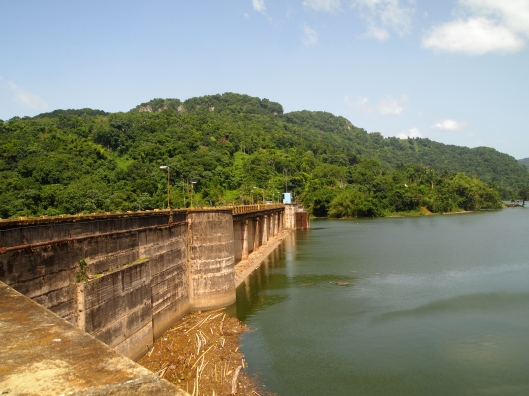 dam at the lake