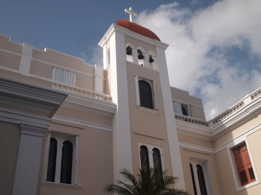 Church next to La Fortaleza