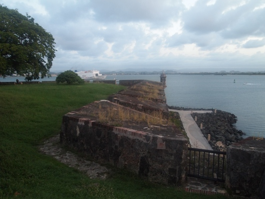 ramparts of El Morro